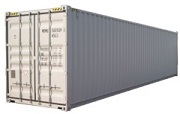 40' high cube steel dry cargo container